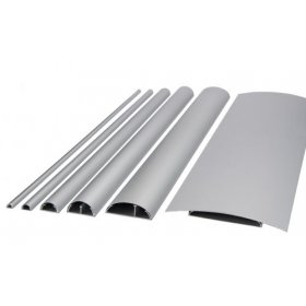BOSSCOM - cable covers 50mm 1,5m alu