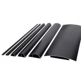 BOSSCOM - cable covers 50mm 1,5m sort