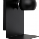 FRANDSEN - Frandsen Lighting Ball wall/black e14 med usb stik
