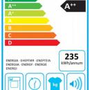 Electrolux - Electrolux ew8h648g7 tumbler A   8kg